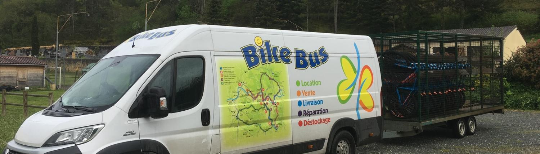 livraison de vélo bike bus